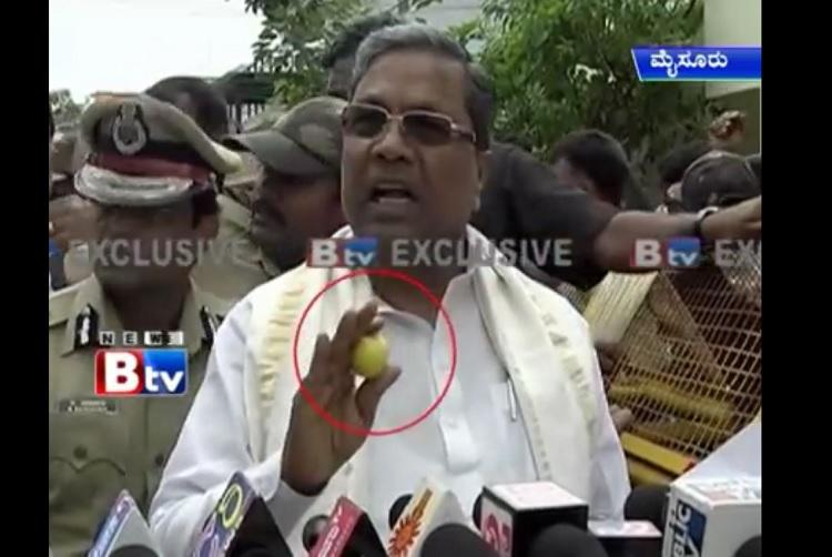 Lemons crows chappals and the Karnataka medias obsession with Chief Minister Siddaramaiah