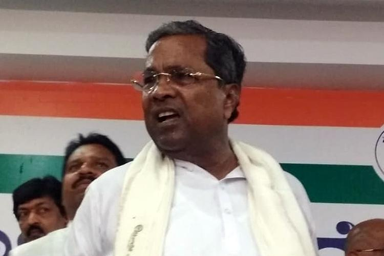 Cong MLA Anand Singh abducted by BJP alleges Siddaramaiah ahead of floor test