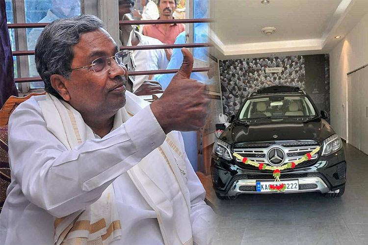 BJP alleges Cong MLA gifted Mercedes car to Siddaramaiah as quid pro quo