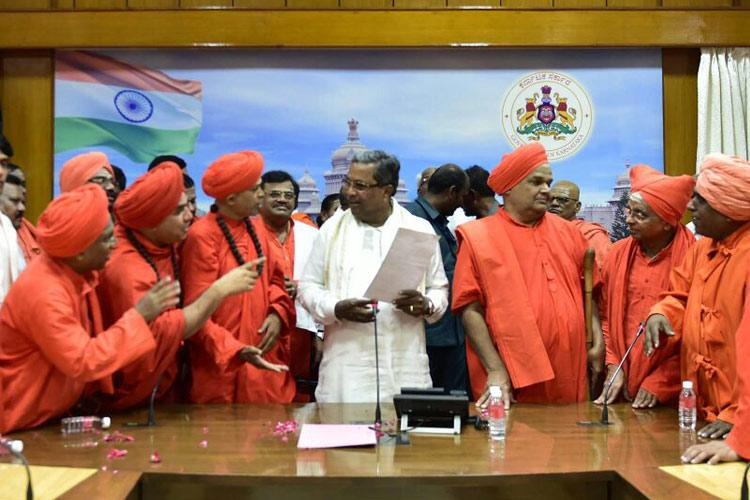 Ktaka govt approves separate Lingayat religion Congs masterstroke or massive gamble
