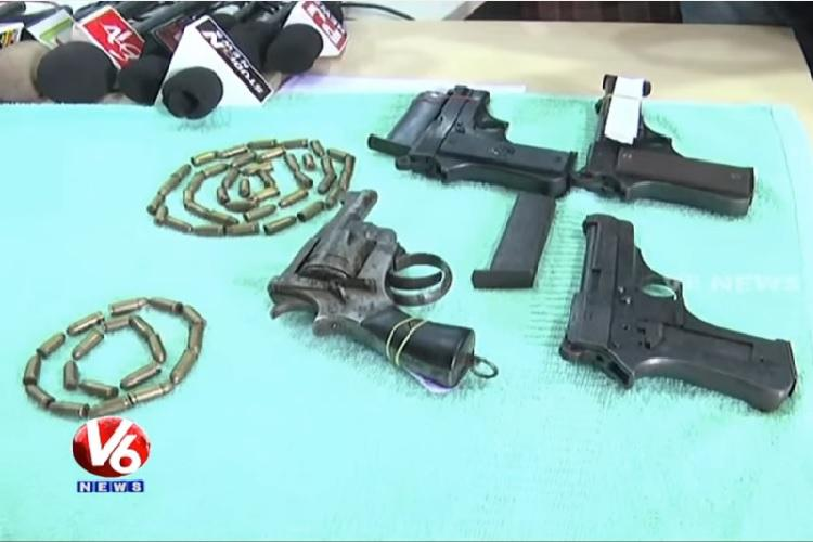 Telangana MLAs brother held with Maoist sympathisers police seize firearms and explosives