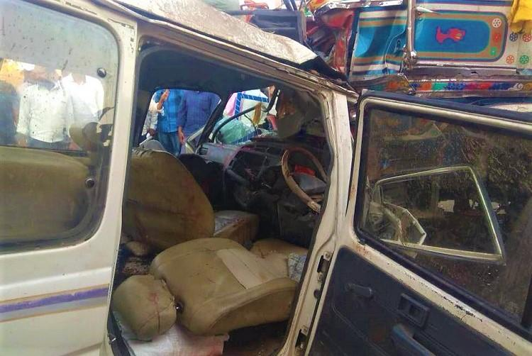 10 killed as four vehicles collide on Telangana highway govt orders probe