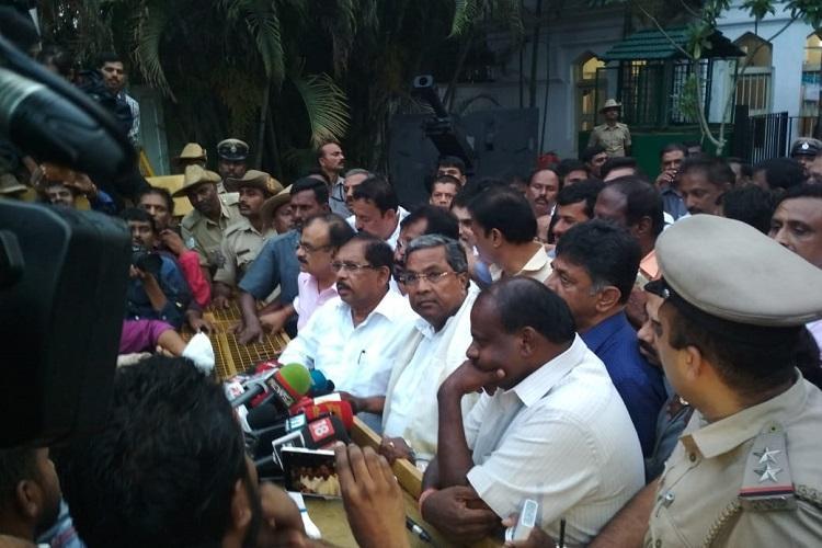 BJP begins back-channel talks eyes Lingayat MLAs to engineer defection