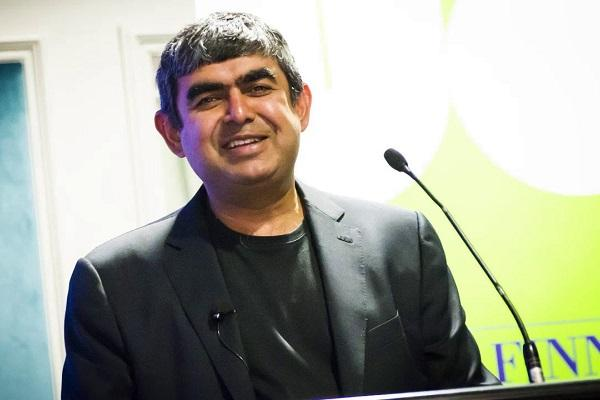 Infosys stock down 3 over report on founders sell-off Sikka vehemently denies rumours