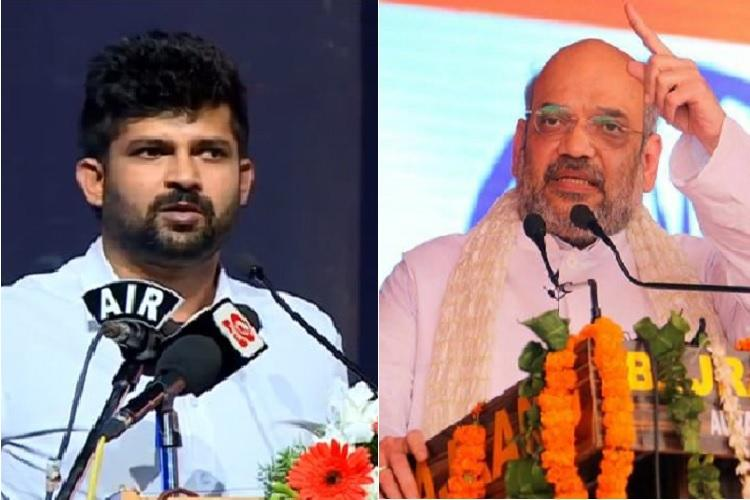 Amit Shah asked us to hold aggressive protests in Ktaka Pratap Simhas video goes viral