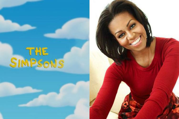 Michelle Obama turned down role in The Simpsons