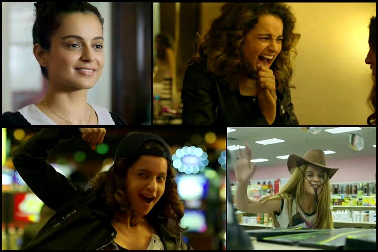 Watch Kangana Ranauts Simran teaser features her quirky mischievous avatar and we love it