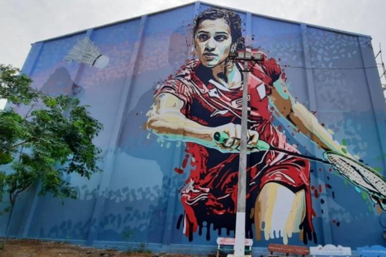 Sindhu graffiti