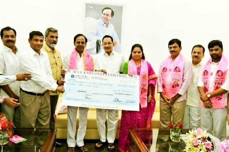Singareni coal workers donate Rs 9 cr to help flood-hit Kerala