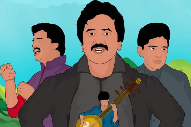 Srinivas Isai song cover poster