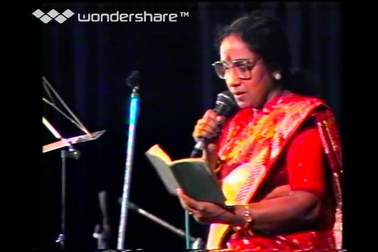 Legendary playback singer MS Rajeswari passes away in Chennai