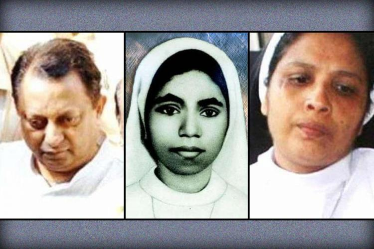 A collage of Thomas Kottoor Sr Abhaya Sr Sephy