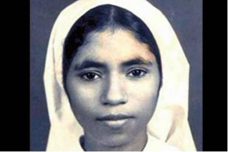 Sr Abhaya passport photo