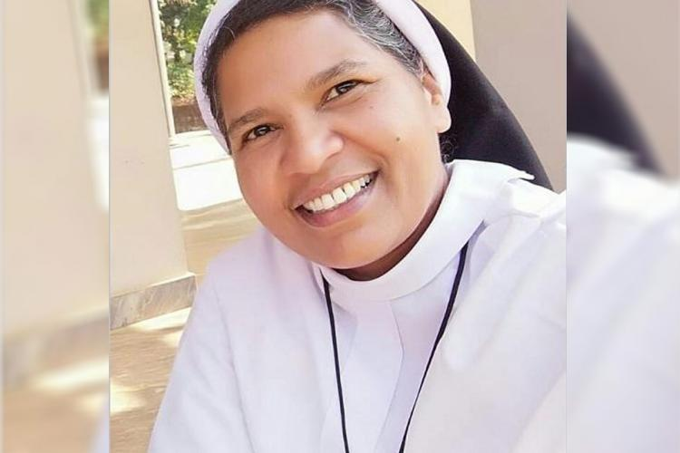 Sister Lucy Kalappura, a Kerala nun, who was expelled from the Church