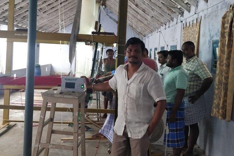 Meet Sivakumar Modha AP man who developed technology to make weavers lives easier