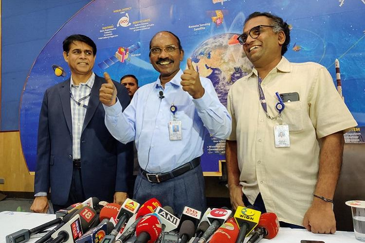 Four astronauts selected for Indias first manned mission Gaganyaan ISRO chief