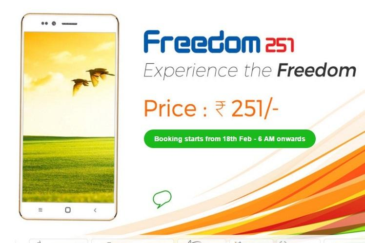 Freedom 251 After initial euphoria flak from all sides and bookings suspended