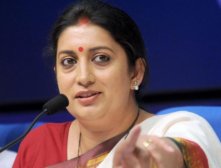 I was considered not fit for TV Smriti Irani on her soap opera days