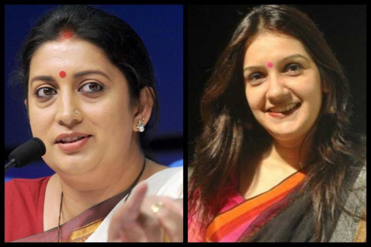 Twitter wars Priyanka C and Smriti Irani spar over security and Rahul Gandhi