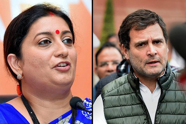 Big upset for Congress Rahul Gandhi loses to BJPs Smriti Irani in home turf Amethi