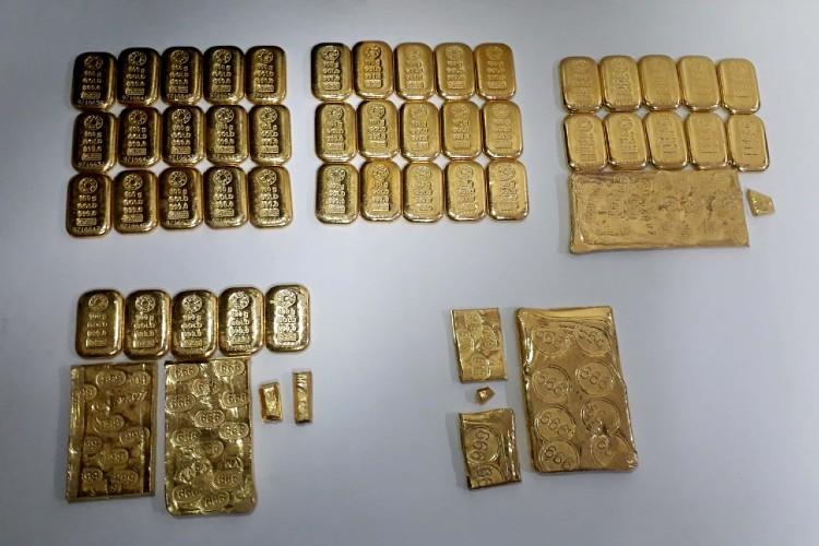 Smuggled gold worth Rs 133 crore seized in Andhra and Telangana 12 arrested