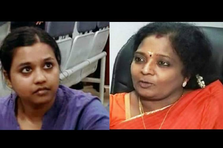I also have rights privacy BJPs Tamilisai stands by her complaint against Sofia