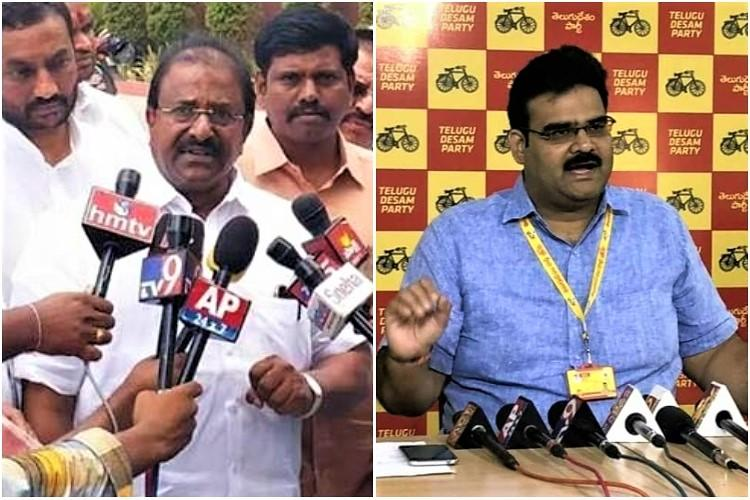 Public funds being misused for Deekshas Andhra BJP lashes out TDP hits back