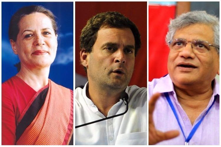 Defamation case against Sonia Rahul Gandhi Yechury for linking RSS to Gauri Lankesh murder