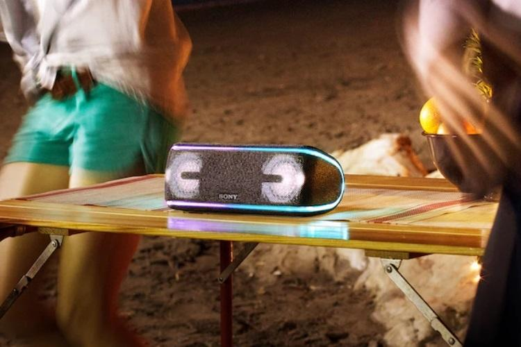 Sony SRS-XB41 Bluetooth speaker review Light show thumping bass all in one device