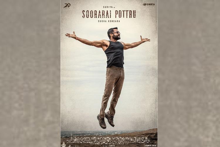 Suriyas first-look in Soorarai Pottru revealed Meet Maara
