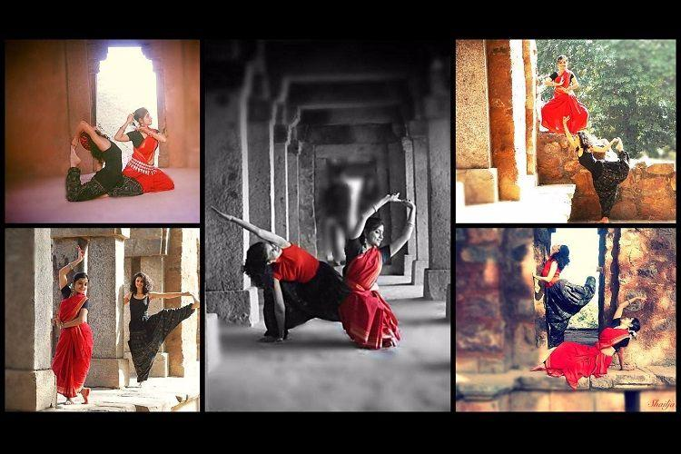 Dance yoga photography Three women come together for a second innings to find their passion