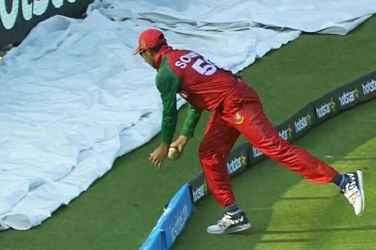 Wonder why Bangladeshs Soumya Sarkar is trending even though Pakistan won the match