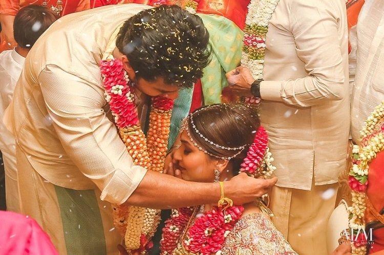 We are one Soundarya Rajinikanth shares wedding pics message for husband and son