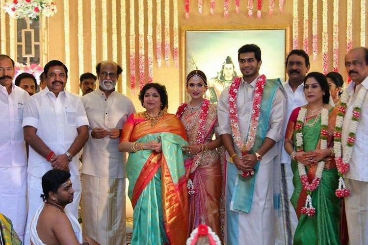 Photos Soundarya Rajinikanth and Vishagan Vanangamudis glittery wedding in Chennai