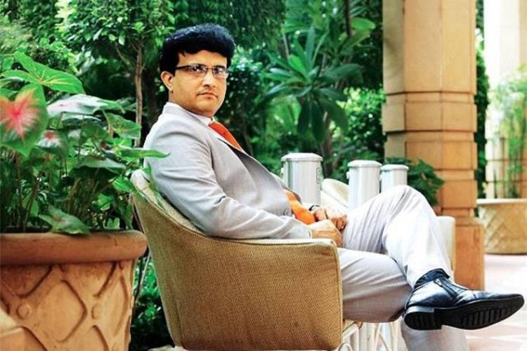 Sourav Ganguly full profile picture sitting for his birthday story