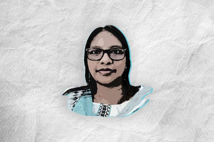 Stylised image of Sowjanya Tamalapakula an Assistant Professor at the School of Gender Studies Tata Institute of Social Sciences Hyderabad