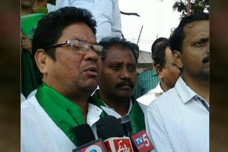 Fearing adivasi-lambada clash Telangana cops put MP Soyam Bapurao under house arrest