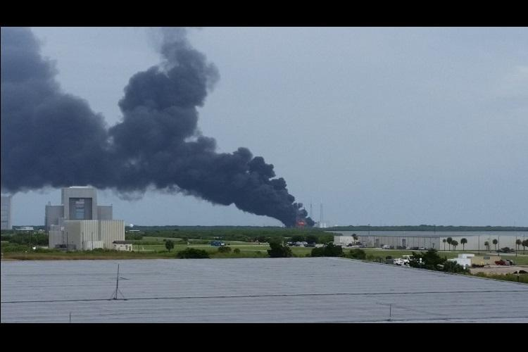 Rocket explosion is blow to SpaceX Facebook and others