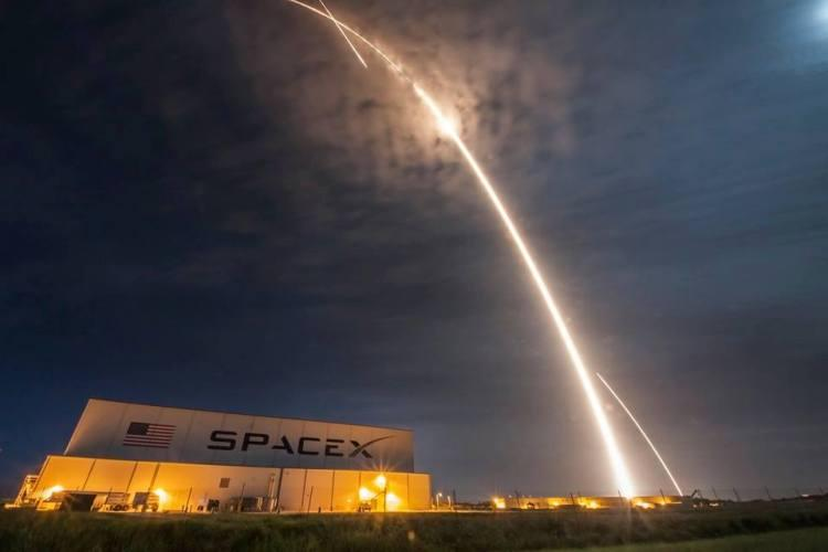 SpaceX used rocket new milestone in Space Station blastoff