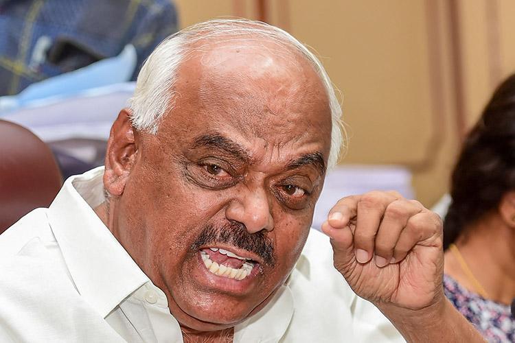 All rebel MLAs in Karnataka disqualified by Speaker Ramesh Kumar