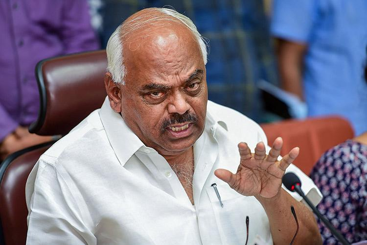 Karnataka BJP likely to move no-confidence motion against Speaker KR Ramesh Kumar