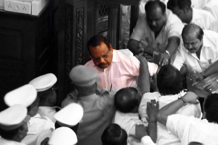 Stalin vs Dhanapal DMK slams Speakers high-handedness latter alleges caste oppression