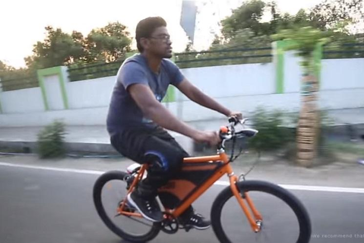 Built from bottom-up this Coimbatore electric bike is funded by the people