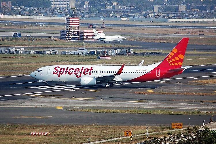 SpiceJet plane undershoots runway in Guwahati 2 pilots grounded