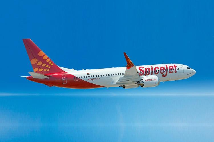 SpiceJet 737 Max aircraft