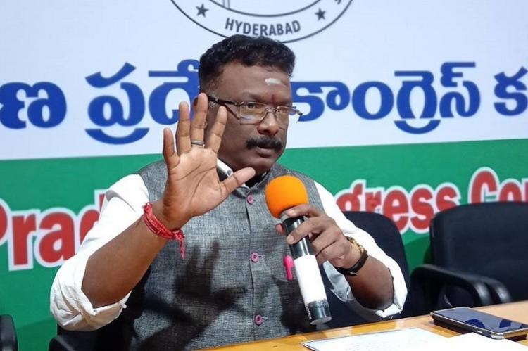 People betrayed by TRS look at Congress as alternative Sravan Dasoju to TNM