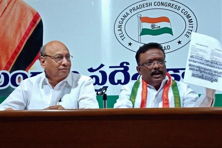 Book KTR for loafer party remark Telangana Congress hits back