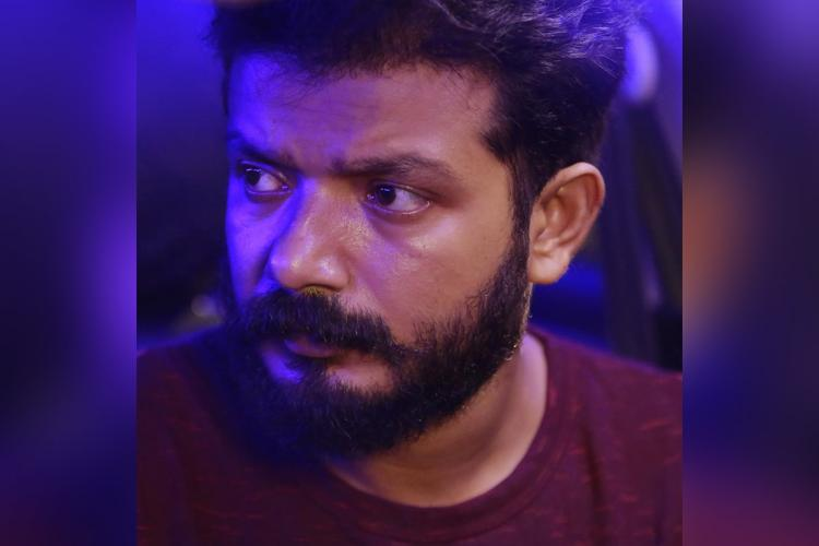 Sreenath Bhasi side profile from a film