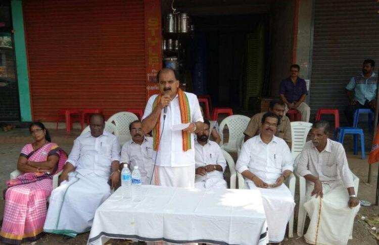 BJPs beef duality Kerala BJP leader ensures quality meat if he is elected