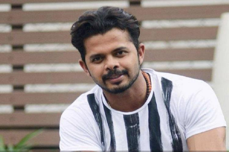 S Sreesanth during an interview
